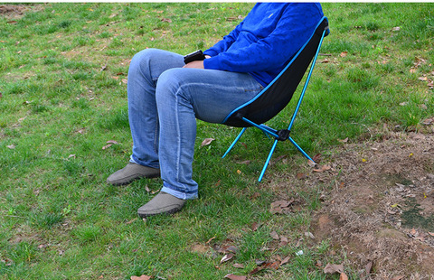 liga de aluminio ultra leve acampamento cadeira