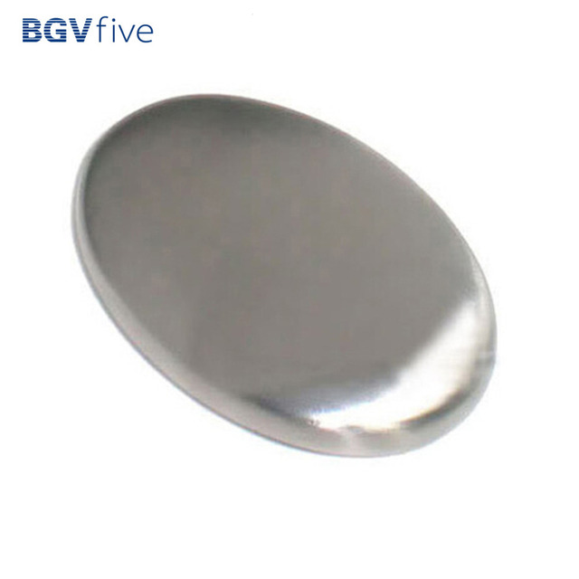 Stainless Steel Soap Shape Deodorize Smell from Hands Retail Eliminating Kitchen Bar bathroom Soap Useful Tools Smell Soap Bar 4