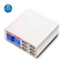 Hub USB Multiport PHONEFIX Station de Charge rapide intelligente affichage numérique intelligent moyeu de chargeur USB 6 ports pour Smartphone