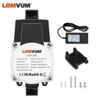 LOMVUM-bomba de agua sin escobillas, potenciador de Presión Automático, 13,5 M, 24V, 45W, IP56, para el hogar