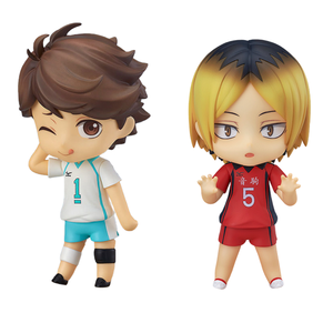 Haikyu Anime Figures Oikawa Tooru #563 Kozume Kenma #605 Action Figuras Cute Toy PVC Model Doll Collectible Xmas Gift Brinquedos