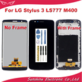 ZQ LCD Display Screen Für LG Stylus 3 LS777 M400 M400DF M400N M400F M400Y LCD Display Mit Touch Panel Digitizer bildschirm Montage-in Handy-LCDs aus Handys & Telekommunikation bei
