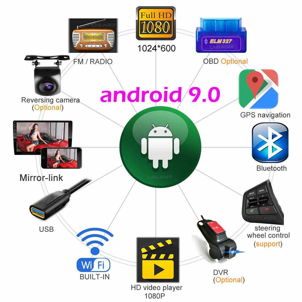 Android 9.0 2 Din Mobil Radio Pemutar Video Multimedia Universal Auto Stereo GPS Peta untuk Volkswagen Nissan Hyundai Kia Toyota CR-V
