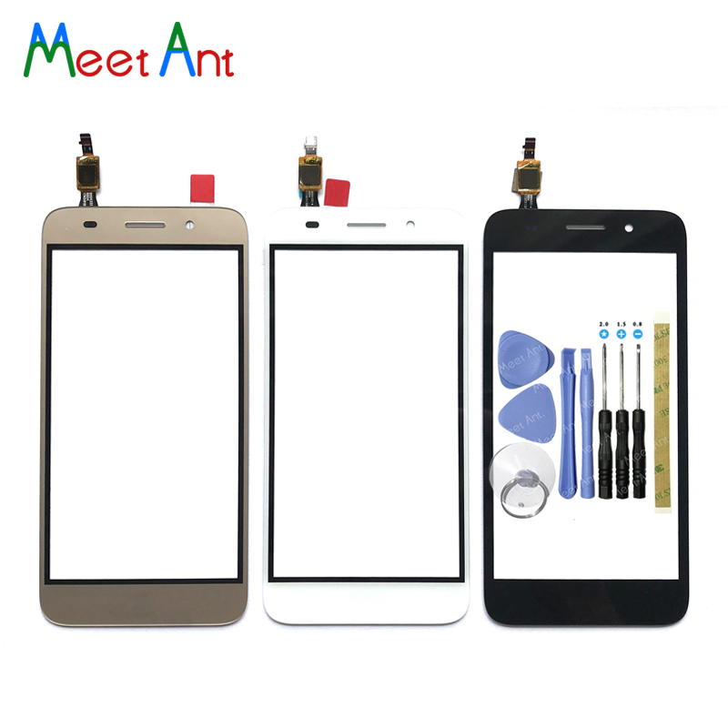 high Quality For Huawei Y3 2017 CRO-U00 CRO-L02 CRO-L22 Touch Screen Digitizer Sensor Outer Glass Lens Panel For Y5 lite(China)