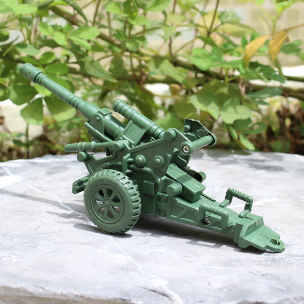 Military Anti Aircraft Gun Cannon Model Kids Boys Educational Toy For Soldier Army Soldier Model