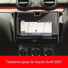 Protetor de filme de vidro temperado para maruti suzuki swift 2019 2020 rádio do carro gps tela auto adesivo acessórios do carro
