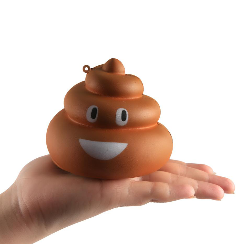 Lovely Toy For Kids Squishy Exquisite Fun Crazy Poo Scented Charm Slow Rising Stress Reliever Toy Boys&Girls