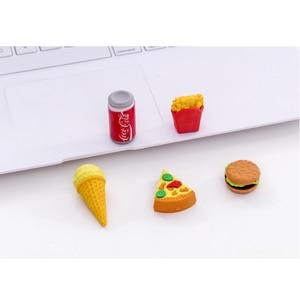 5 шт./компл. Burger Cola ластик для фаст-фуда Kawaii милые школьные принадлежности для студентов очень классные подарки