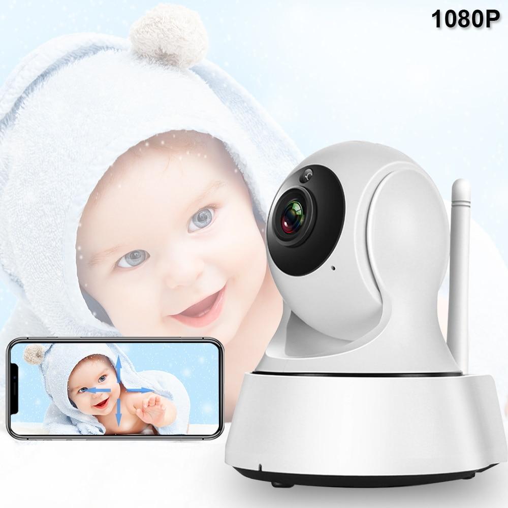 Baby Monitor Wif Night Vision Babyphone Video Camera 1080P Two Way Audio Cry Babies Alarm Baby Sleeping Nanny Security Camera