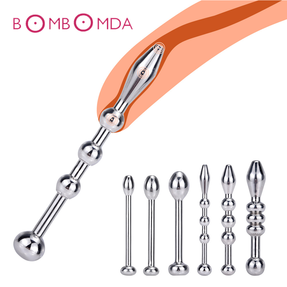 Metal Catheter Urethral Dilators Horse Eye Stimulator Penis Plug Stainless Steel Sex Toys For Men Catheters Sounds Adult Product
