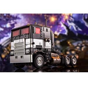Image 3 - AOYI ألعاب شخصيات الحركة G1 الحصار سبيكة العدو رئيس شاحنة نائمة نسخة تشوه التحول