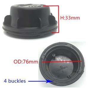Image 4 - 1 pc pour Chevrolet trax cache poussière LED hid xénon lampe augmenter bouchon anti poussière phare couvercle arrière couvercle de lampe élargi couverture arrière
