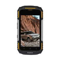GuoPHONE V88Four Core Three Defense Smart Phone Mtk6582 4 inch Multi Language Four Frequency Mobile Phone