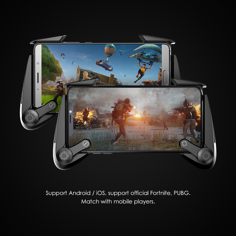 GameSir F3 Plus Pubg Mobile Gamepad Conductive AirFlash Grip With Response Buttons Gaming Controller For Android / IOS