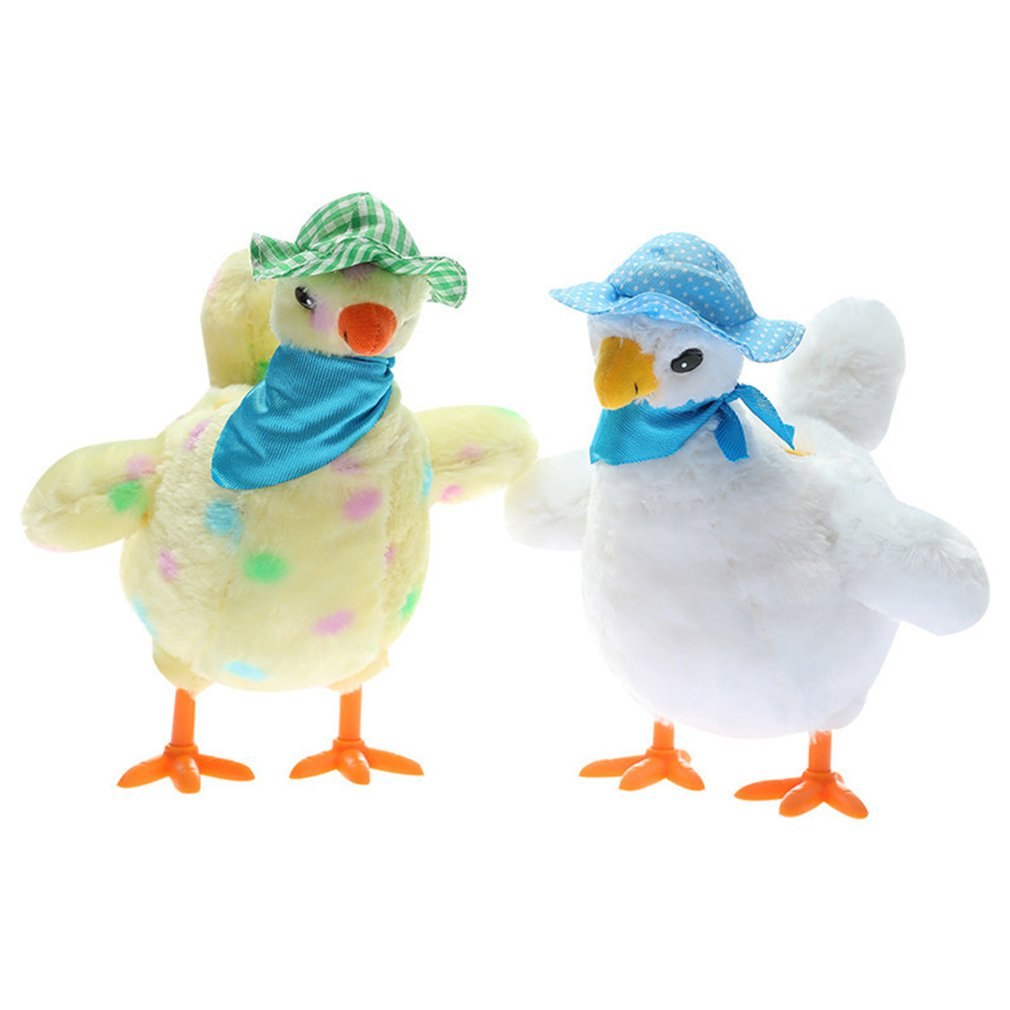 A Chicken Funny Chicken Toy Chicken Hen Laying Egg Shocked Joke Gift Child Anti-Stress Gadget Fun Game Indoor or Outdoor enlarge