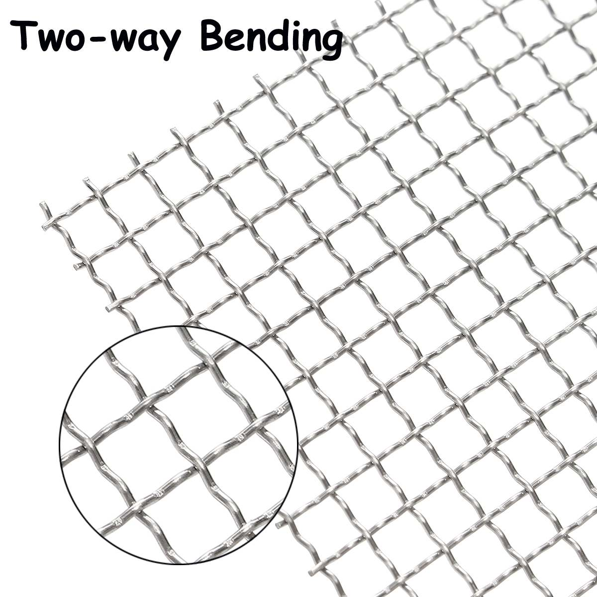 """Stainless Steel 304 Mesh #4 .047Wire Cloth Screen 25""""x13"""""""
