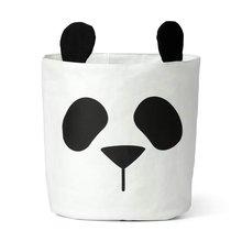 Сумка для хранения с пандой корзина детских игрушек одежда из