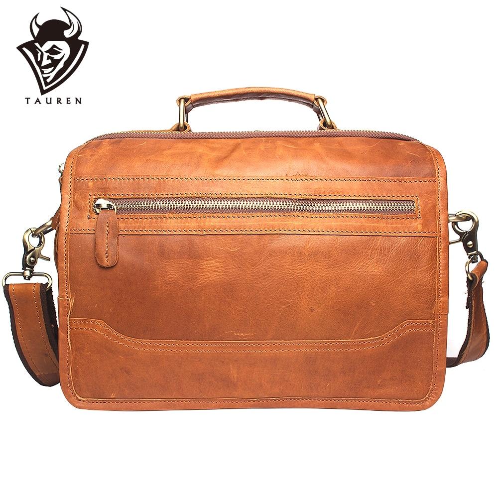 mens delux leather bag