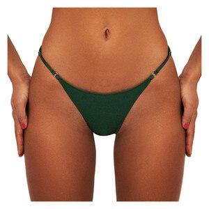 Sexy Women Swimming Pants Brazilian Low Waist Bikini Bottom Thong Bathing Suit Swimsuit Summer Beachwear Swim Trunk T-back Short