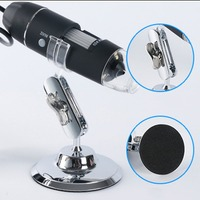 ACEHE 1600X HD Electronic Magnifier Handheld Digital Microscope Industrial Medical Magnifier USB Microscope with Metal Stand
