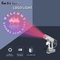 Işıklar ve Aydınlatma'ten Sahne Aydınlatması Efekti'de Gobo projektör hava açık dükkan yağmur restoran hoşgeldiniz lazer özelleştirilmiş ekran