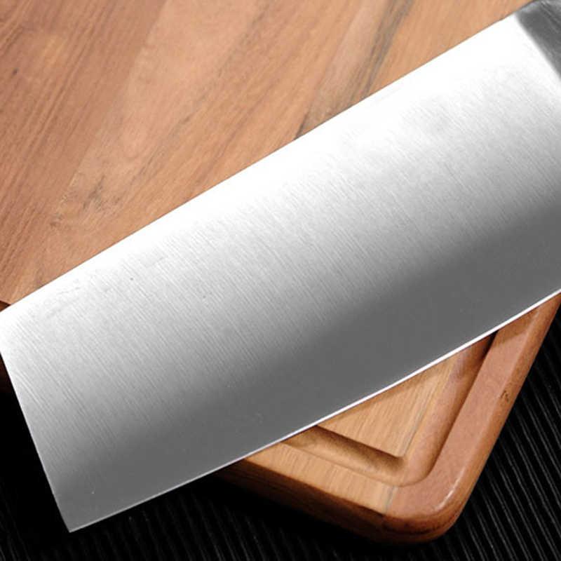 Liang Da Neue 7 zoll Küche Messer Japanischen Kochen der Edelstahl Kochmesser Hacken Nakiri Cleaver Japanischen Küchenchef Kochen werkzeuge