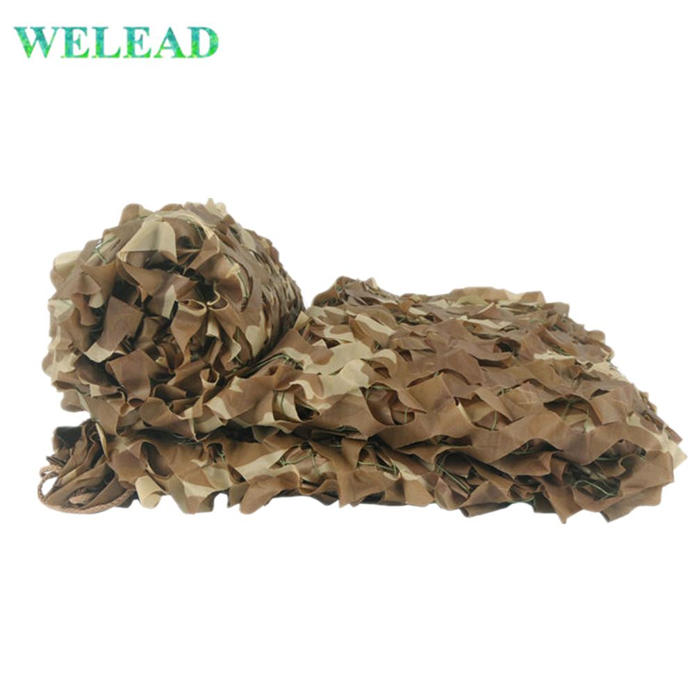 WELEAD 2 5M Desert Military Reinforced Camouflage Nets Sand Beige 150D Oxford for Garden Hiding Outdoor Shading Mesh Terrace in Sun Shelter from Sports Entertainment
