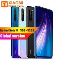 Смартфон Xiaomi Note 8, 3 Гб ОЗУ 32 Гб ПЗУ, глобальная версия, Snapdragon мобильный телефон, быстрая зарядка, аккумулятор 665 мАч, 48 МП, 4000