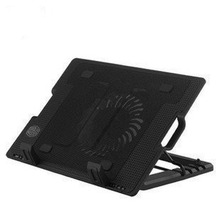 цена на Laptop Cooling Pad With Cooling Fans and Double USB Ports Laptop Cooler Notebook Stand for 14-17 inch