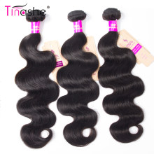 Tissage en lot brésilien naturel Remy Body Wave-Tinashe Hair | Couleur naturelle, 8-30 pouces, Extension de cheveux, lots de 1/3/4