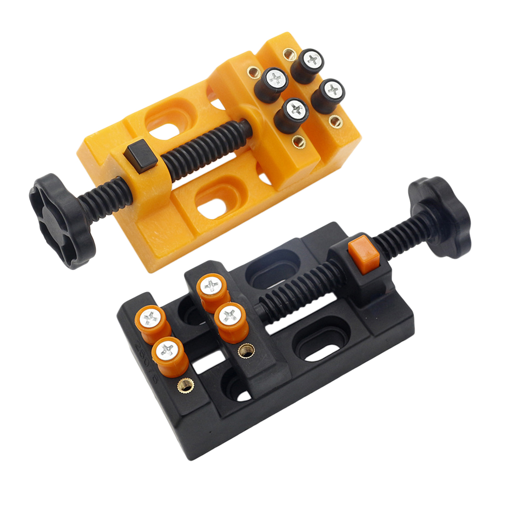 Mini Drill Press Vise Clamp Table Bench For Crafts Jewerly Watch DIY Carving