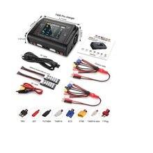 HTRC – chargeur de batterie Lipo T400 Pro DC 400W AC 200W 12AX2, décharge de batterie pour LiPo LiHV LiFe Lilon NiCd NiMh Pb