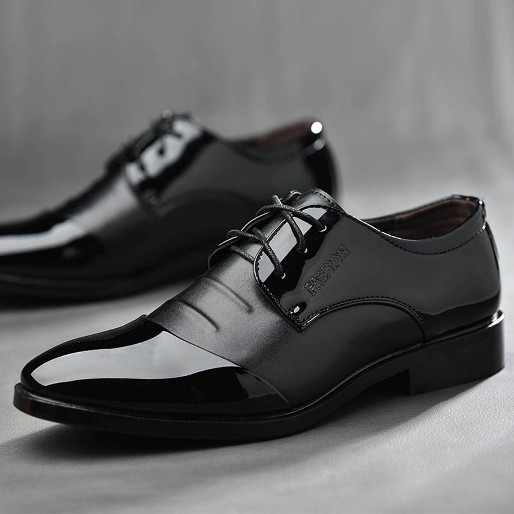 Breathable Pointed Toe Oxford Men