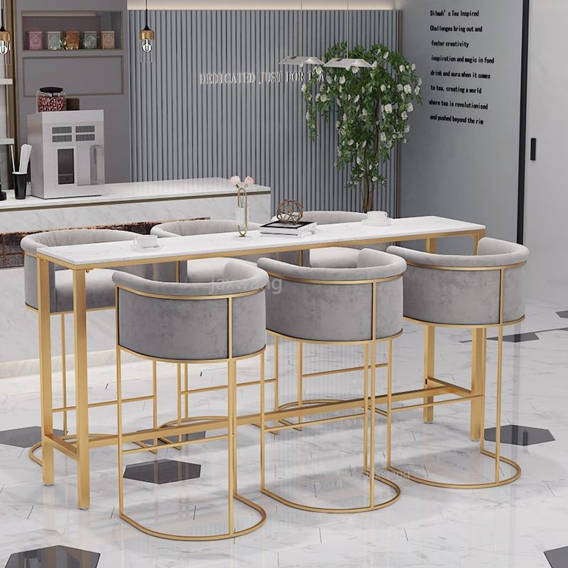Luxury Pink Grey Soft Velvet Casting Iron Golden Metal Armchair Living Room Chair Bar Chair Dresser Coffee Leisure Bar Stool