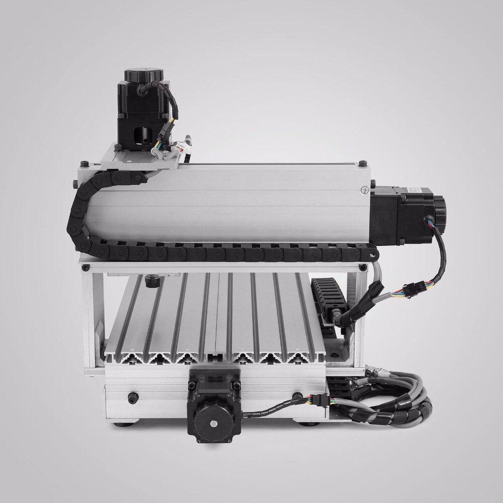 CNC Stecher Maschine Router Drehachse Gravur Maschine 3-Backenfutter 4TH-Axis Schwanz Lager Hohlwelle