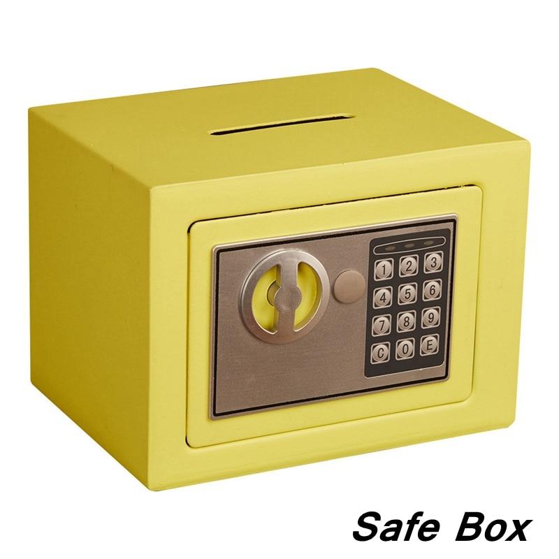 Mini Safety Box Drop Cash Safe Box 1