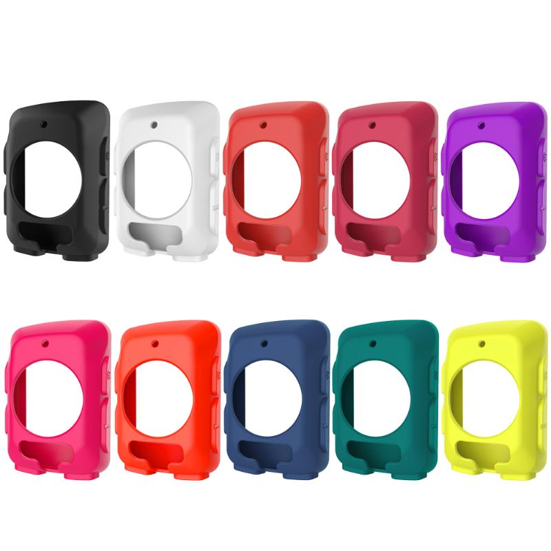 10 Colors Silicone Rubber Protective Smart Watch Case Cover for <font><b>Garmin</b></font> Edge <font><b>520</b></font> <font><b>GPS</b></font> Cycling Computer Bicycle Accessories image