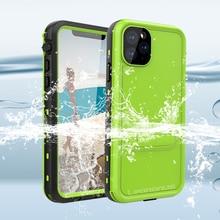 Funda impermeable IP68 para iPhone 11 Pro 11 Pro Max, protección de 360 grados, cubierta subacuática deportiva para iPhone 11 Pro Max