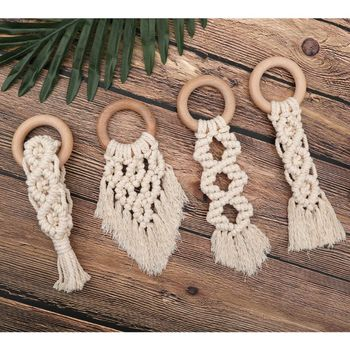 Organic Macrame Teether Infant (3-12 months) Shop by Age Teethers & Rattlers Toddler (1-3 years)