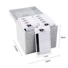 лучшая цена 10 Layers Eyelash Extension Storage Box Makeup Organizer Eyelashes Glue Display Holder Case 2 Colors