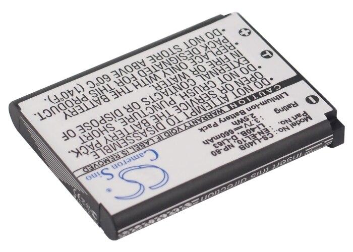 BATTERIA per Rollei Powerflex 460