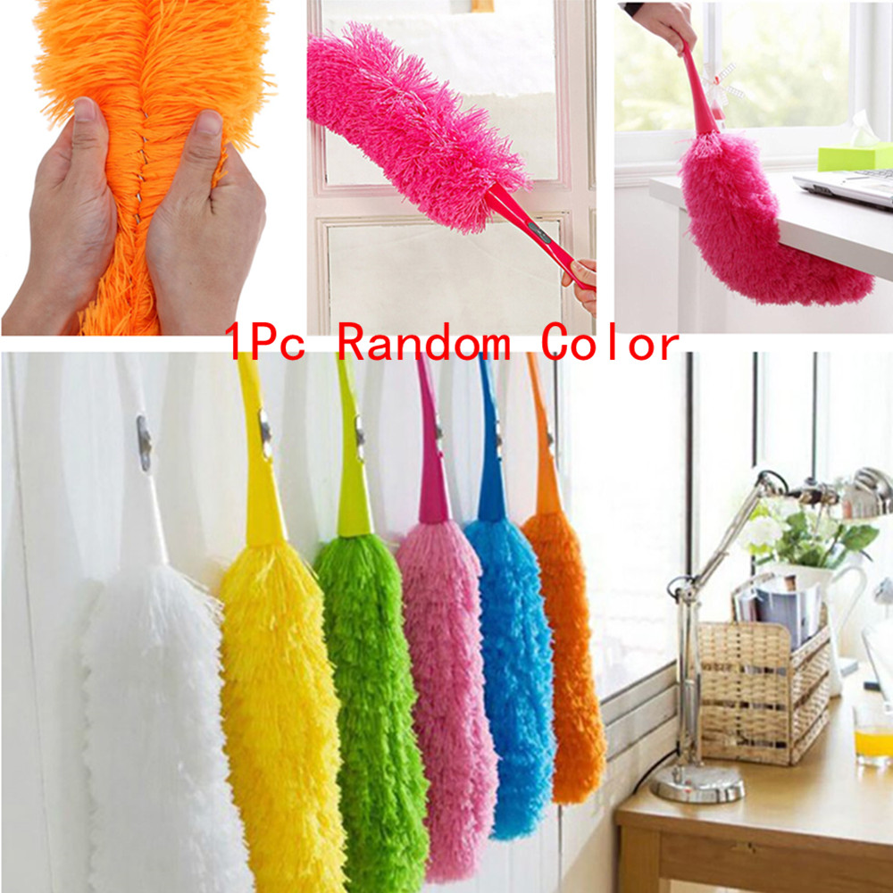 1PC Microfiber Dust Car Brush Window Cleaner Cleaning Brush Household Cleaning Tools Foldable Dust Brush Cars Accessories