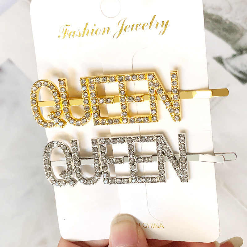 Accessories Shiny Rhinestones Hairpins  Barrettes Crystal Hairgrip Hair Clips