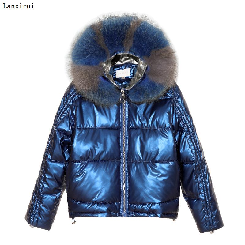 Autumn And Winter New Faux Fur Hooded Coat Women Imitation Rabbit Fur Coat Jacket Thicker Warm Coat One Side Wear