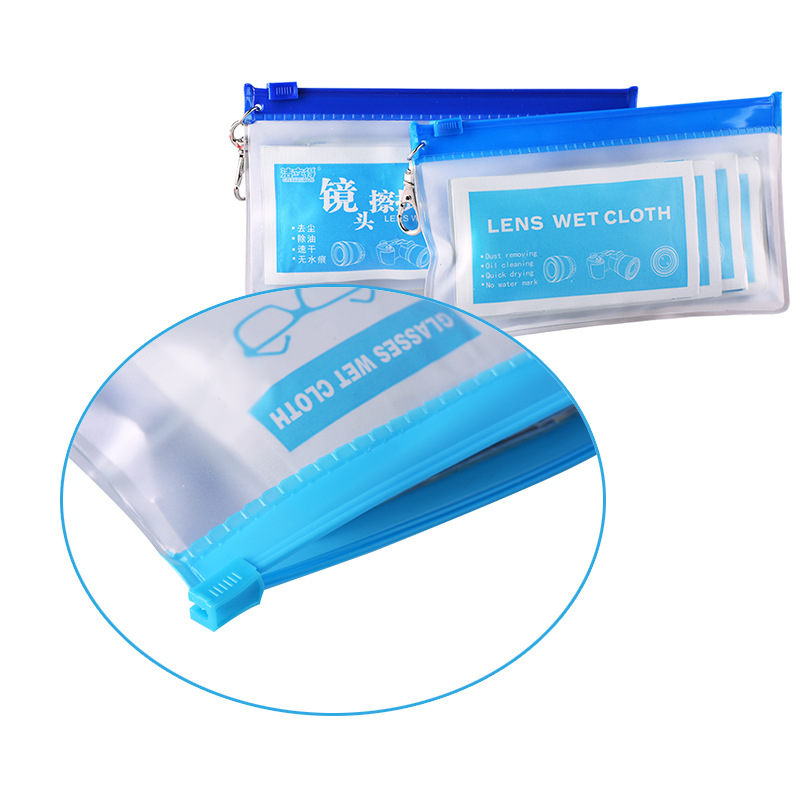 3D Optical Lens Wet Wipes Optical Single-lens Reflex Camera Lens Cleaning Disinfection Wet Wipe