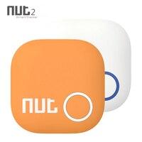 Nut 2-rastreador inteligente para teléfono Android BT4.0, Mini etiqueta para llave, Bluetooth, recordatorio de Antipérdida, rastreador inalámbrico para billetera infantil