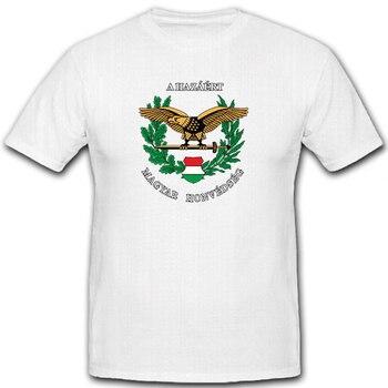 Ungarische streitkrafte-magyar Honvedseg ejército Militar camiseta de verano de algodón de manga corta o-cuello camiseta nueva S-3XL