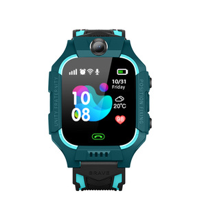 Image 2 - Anti Lost LCD Child LBS Tracker SOS Smart Monitoring Positioning Phone Kids LBS Baby Watch Compatible IOS & Android