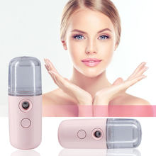 Elektrische Handheld Gesicht Feuchtigkeits Sprayer Mini Tragbare Feuchtigkeitsspendende Luftbefeuchter USB Lufterfrischer Für Häuser Reise Nebel Maker 1pc