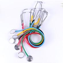 1 قطعة السماعة المحمولة المعونة جانب واحد EMT السماعة السريرية المحمولة الطبية السماعة أداة معدات طبية